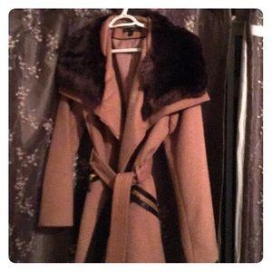 Via spica wool blend jacket